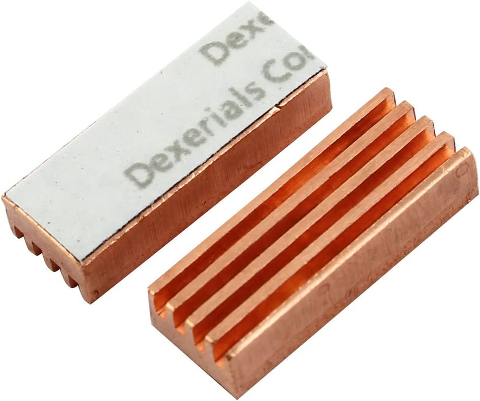 uxcell PC Computer MC-200 Memory Copper Heat Sink for DDR DDR2 DDR3 RAM