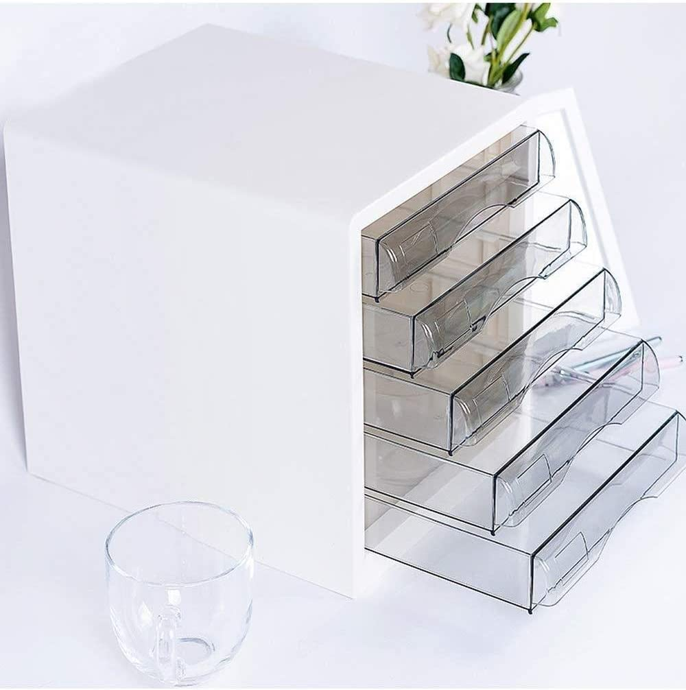 File cabinet File Cabinets 5th Floor Desktop Plastic File Holder Storage Box Family Office Cabinet Desktop Archive Storage Manager Home Office Furniture Office Supplies Color : B