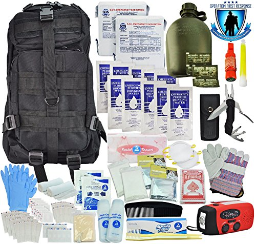 Tactical 365 Operation First Response Stage Two 3 Day 2 Person Bug Out Survival Bag (Stage 2 Kit) by Tactical 365