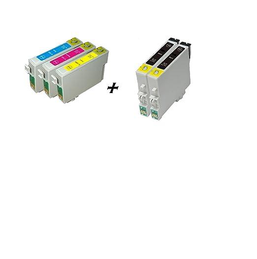 4 opinioni per Now Ink Ltd 5X T0711H T1002-4 set completo di cartucce d'inchiostro per