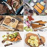 Knife Set, Elegant Life 15-Piece Kitchen Knife Set