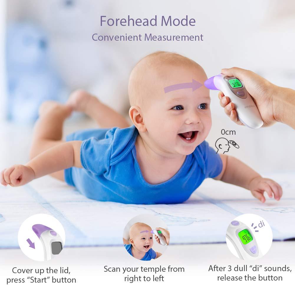 Amazon.com: Termómetro de oído y la frente médico ...