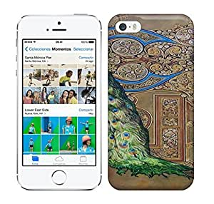 Best Power(Tm) HD Colorful Painted Watercolor Sleeping Peacock Hard Phone Case For Iphone 5/5S