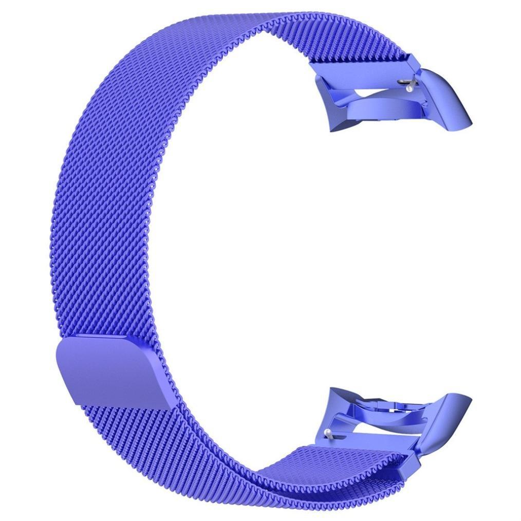 becolerメッシュステンレススチールバンドストラップブレスレットSamsung Gear s2用ストラップ As show ブルー B0795PV7QR ブルー ブルー