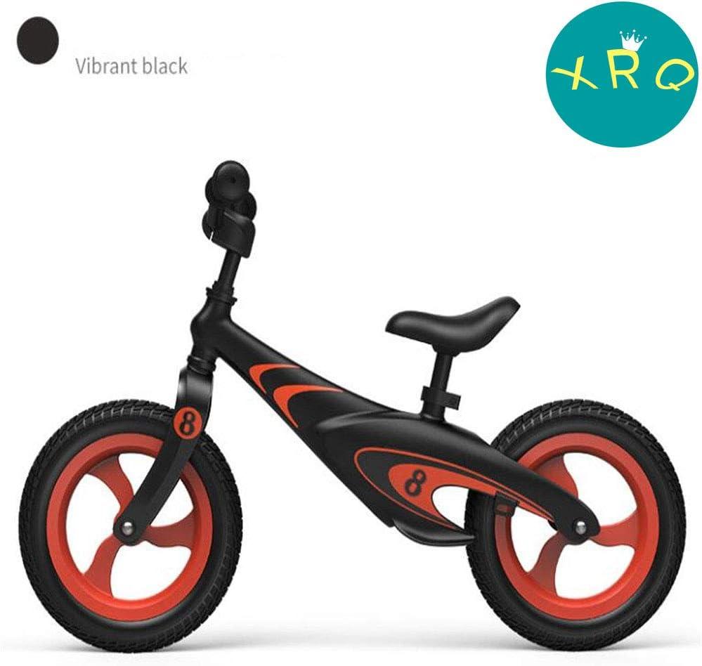 XRQ Bicicleta De Equilibrio Sin Pedales para Niños De Aleación De Magnesio De 12