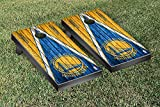 Golden State Warriors NBA Basketball Regulation Cornhole Game Set Triangle Weathered Version