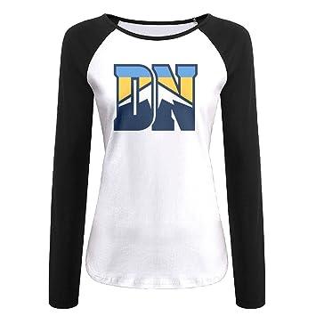 b9a9f057a creamfly - Denver Nuggets de baloncesto Manga Larga Raglán camiseta de  béisbol  Amazon.es  Deportes y aire libre