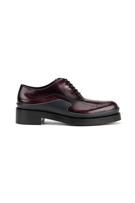 Prada Stringate Donna 1E050gx6of0403 Pelle Bordeaux  Amazon.it  Scarpe e  borse e863e482215