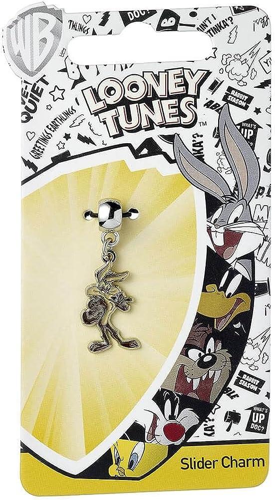 20cm Bracelet /à breloques officiel plaqu/é argent Looney Tunes