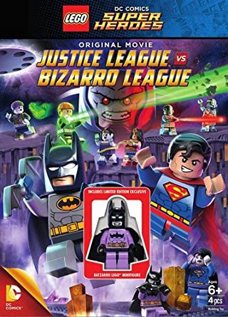Amazon.com: LEGO: DC Comics Super Heroes: Justice League vs. Bizarro ...
