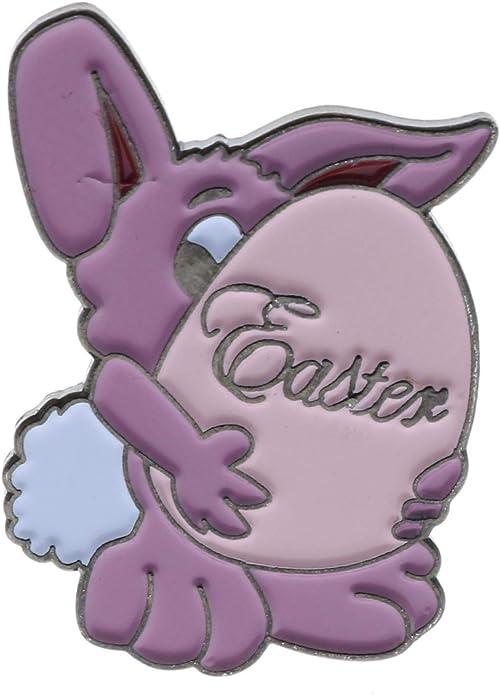 Sujak artículos Militares Lindo Vacaciones Pascua Bunny Huevo Sombrero Solapa Pin AVAP0273: Amazon.es: Joyería
