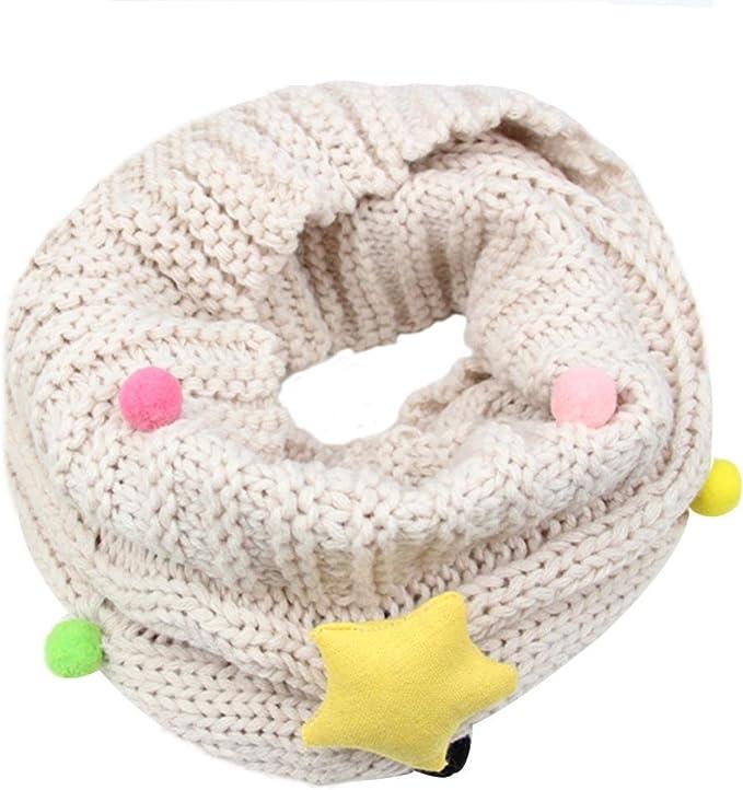 Bufandas Bebé Niños niñas Linda Bufanda Otoño Invierno algodón O ...
