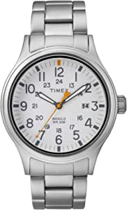 Timex Allied White Dial Stainless Steel Men's Watch TW2R46700