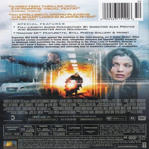 Amazon.com: I, Robot (Widescreen Edition): Will Smith, Bridget ...