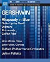 Gershwin / Weiss / Fullam / Buffalo Pco / Falletta - Rhapsody in Blue Strike Up the Band Overture [Blu-Ray Audio]<br>$1129.00