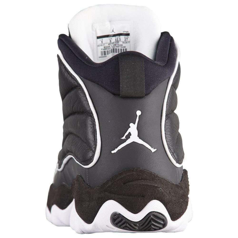 Nike Jordan Youth Pro Strong BG Leather Black White Trainers 4 US