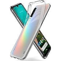Spigen Liquid Crystal Serisi Kılıf Xiaomi Mi A3 ile Uyumlu / 4 Tarafı Tam Koruma - Crystal Clear
