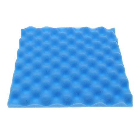 Homyl Estudio Cajónes de Huevos Pruebas Humedecenes Espuma Acústica - Azul, como se describe