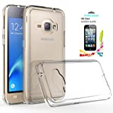 Galaxy J1 2016/Luna/Amp 2/Express 3 Clear Case with