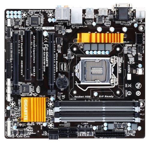 Gigabyte GA-Z97M-D3H Micro ATX DDR3 LGA1150 SATA  6Gb/s Motherboard(GA-Z97M-D3H)