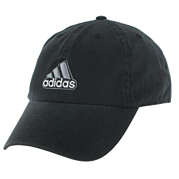 brand new e3da5 b8508 adidas Men s Ultimate Relaxed Adjustable Cap, Black Grey, One Size
