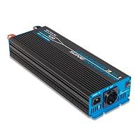 ECTIVE CSI-Serie | Sinus Wechselrichter 1000W mit Batterie Ladegerät und NVS | 12V zu 230V | 7 Varianten: 300W - 3000W | Reiner 12 Volt DC auf AC Spannungswandler Power Inverter mit Netzvorrangschaltung 12 V