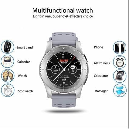 Smart Watch Reloj Inteligente Reloj Deportivo con Podómetro,Sueño,Cronómetro,Monitor de Sueño
