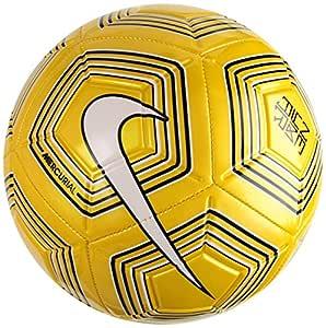 Nike Neymar Jr. Strike Fútbol, Amarillo, 4: Amazon.es: Deportes y ...