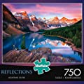 Buffalo Games Reflections: Mountains on Fire Jigsaw Bigjigs Puzzle (750 Piece) by Buffalo Games
