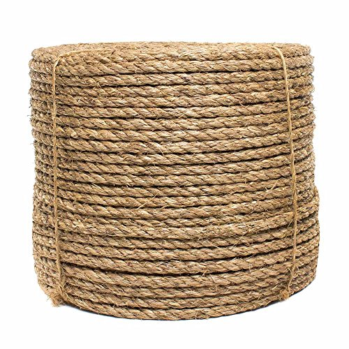 1/2-inch Manila Rope - 100ft by West Coast Paracord