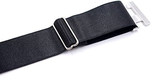 Zoylink Ligas De Calcetines Sock Garters Liga El/áStica Ajustable Suspender con Abrazaderas Antideslizantes para Hombresntes para Hombres