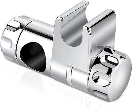 Soporte de Ducha Rixow Soporte de Alcachofa de Ducha Cromado Regulable 1 X 25 mm