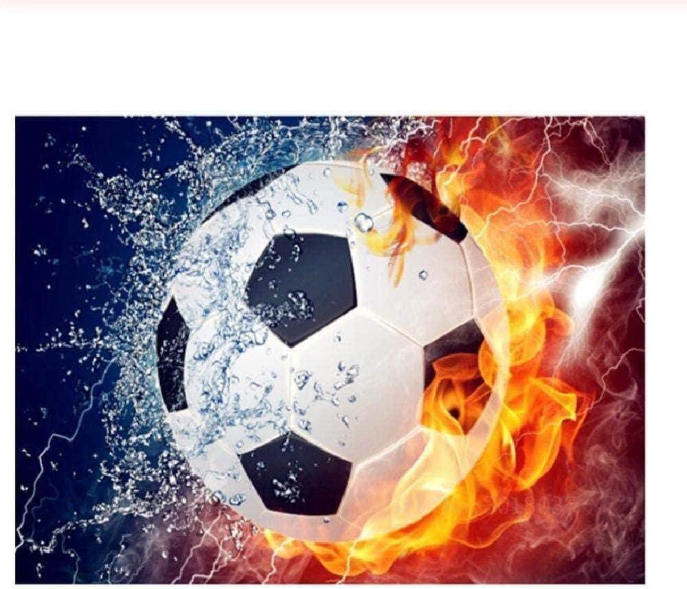 OSDFN Puzzle 2000 Piezas para Adultos, Fuego De Agua De Fútbol,Juegos Educativos Juguetes, De Rompecabezas para La Damilia,