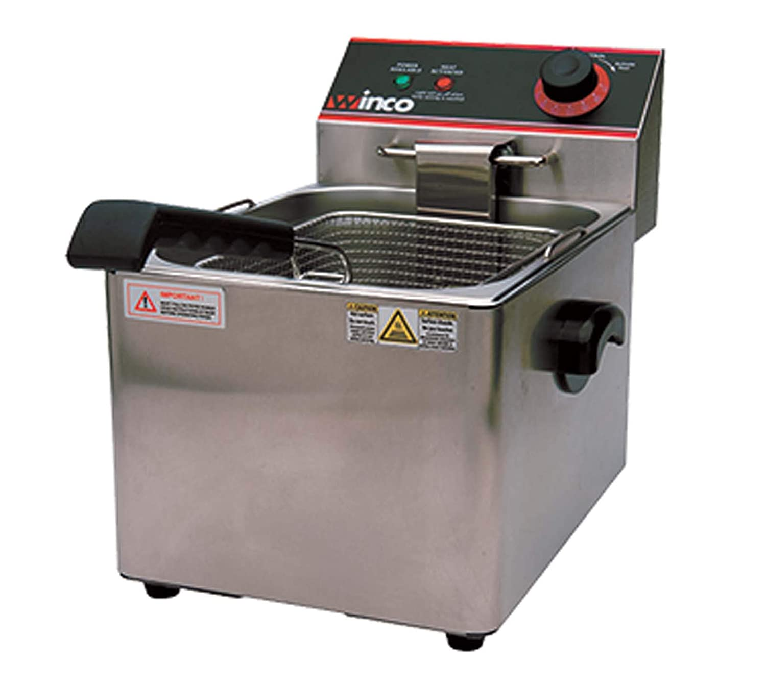 Winco EFS-16 Deep Fryer, electric, countertop single well
