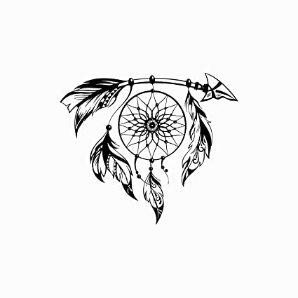 aad8d183c Dream Catcher Wall Decal Vinyl Sticker Decals Boho Bedding Decor Feather Native  American Dreamcatcher Decal Stickers Bohemian Bedroom x21: Amazon.ca: Home  & ...