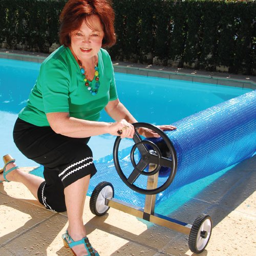 In-Ground Pool Solar Reel