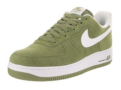 Nike Herren Air Force 1 07 Sneaker Grün Weiß, Größe:46 ...