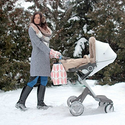 Sevira Kids, Borsa tote donna grigio Boho Arrows Gris 45 x 29 cm (+/- 2 cm) Pingouin Baby
