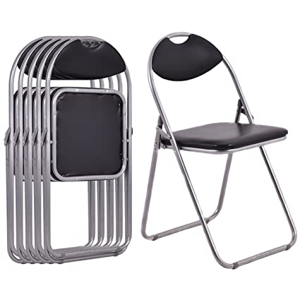 Amazing Giantex Folding Chair 6 PC Chair Photos - Review comfy fold up chairs Photo