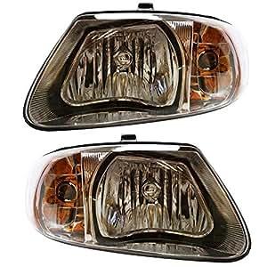 prime choice auto parts kapdg10083a1pr headlight pair automotive. Black Bedroom Furniture Sets. Home Design Ideas