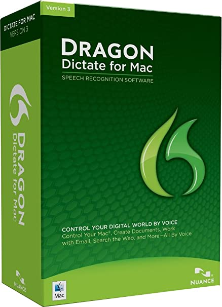 Dragon Dictate 3 0 (Mac) (Old Version)