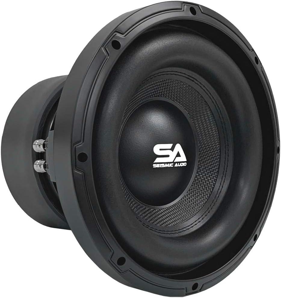 Seismic Audio - SA-GFC104-10 Inch 1600 Watt Max Power Dual 4 Ohm Car Audio Subwoofer