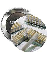 "CafePress - Nicotine Inhalator - 2 - 2.25"" Button"