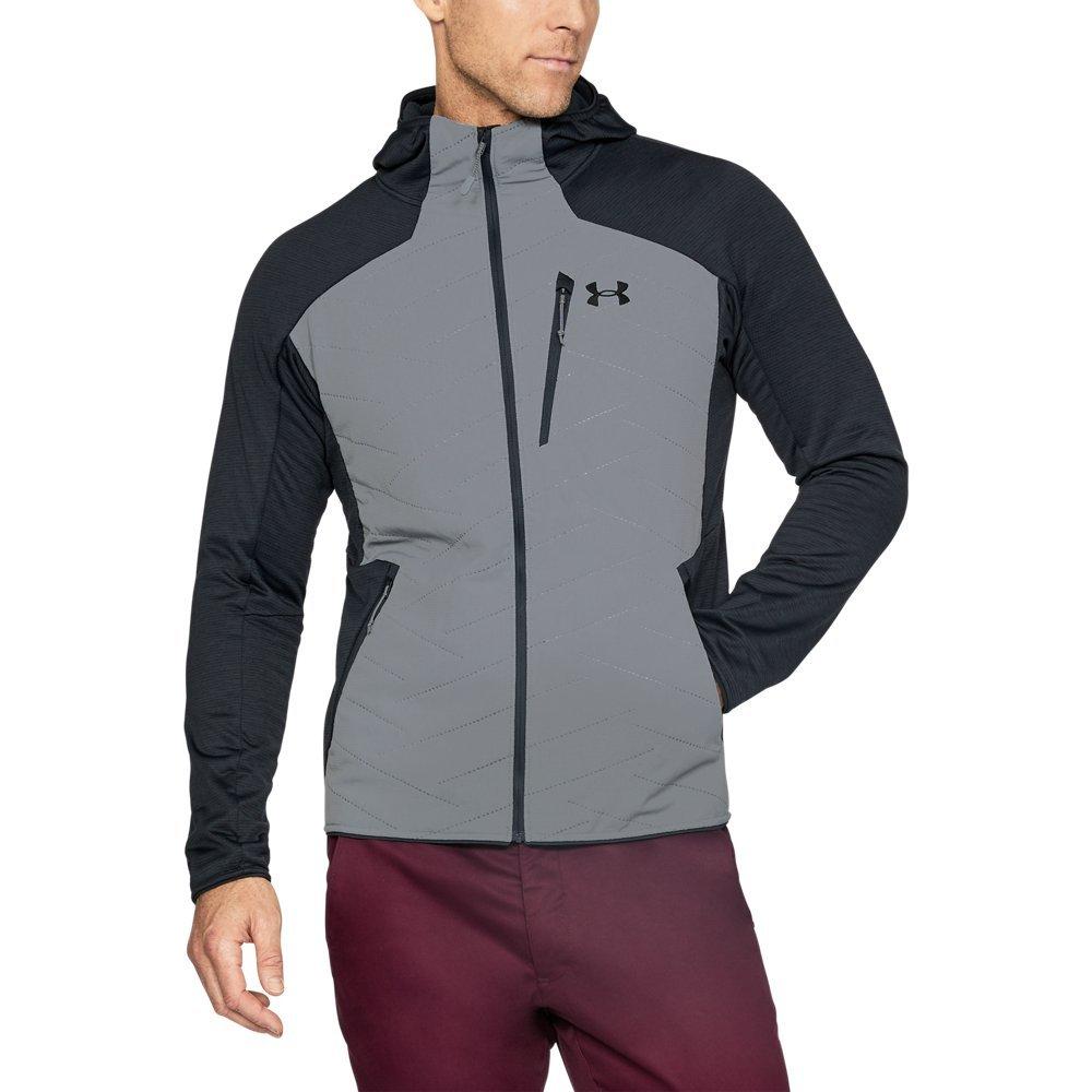 Under Armour Outerwear Under Armour Men's Reactor 3G Jacket, Steel/Black, Medium