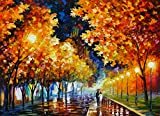 Gold Boulevard is a Limited Edition print from the Edition of 400. The artwork is a hand-embellished, signed and numbered Giclee on Unstretched Canvas by Leonid Afremov. Embellishment on each of these pieces will be slightly different, but the image ...