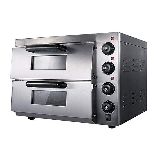 Horno de pizza, horno de convección con piedra de pizza, horno ...