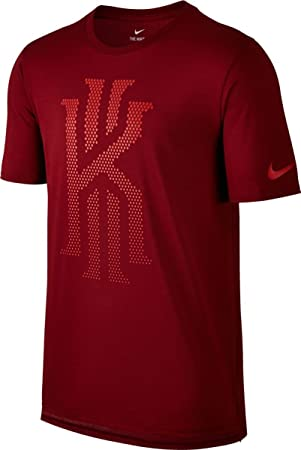 Nike Kyrie Irving M Nk Dry tee DF S+ Muted Camiseta de Manga Corta, Hombre, Rojo (Team Red), XXL: Amazon.es: Deportes y aire libre