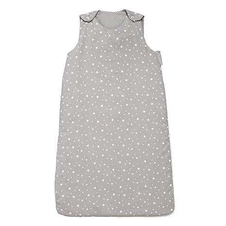 Belino Stars - Saco de dormir para bebé, 90 cm, color gris