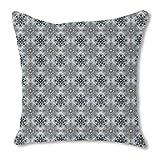 Stoneflowers 24X24 Burlap Pillow 2-Sided