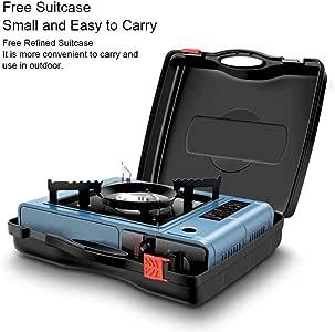 iBàste - Mini hornillo de Gas portátil para Camping: Amazon.es: Hogar